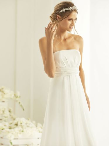 Bianco-Evento-bridal-dress, Neve
