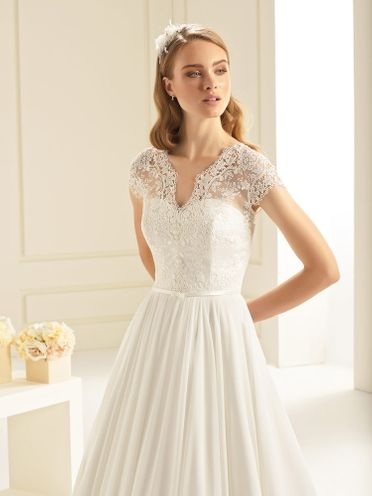 Bianco-Evento-bridal-dress, Ominia